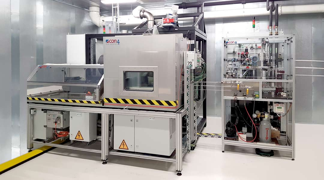 Compressor Test Benches and Refrigerant Circuits